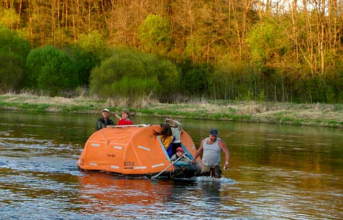 лодка для рыбалки и походов